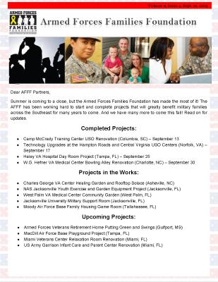 AFFF Newsletter