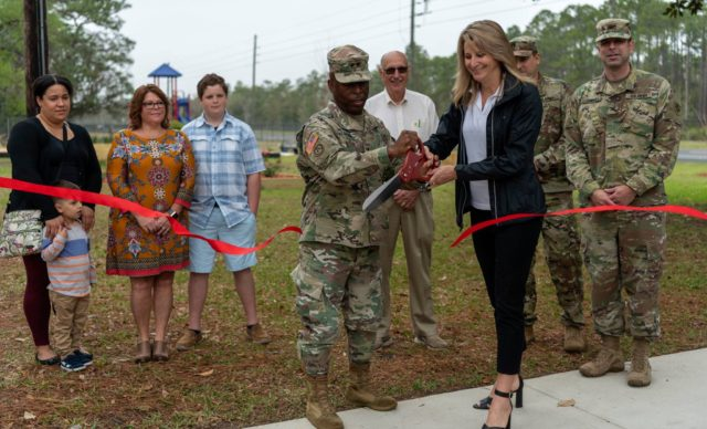 AFFF funds $70K pair of on-base community projects at Camp Blanding