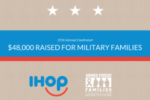 IHOP stacks up donations for troops, military families